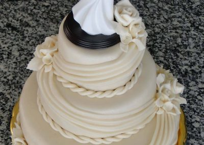 Krémszín torta