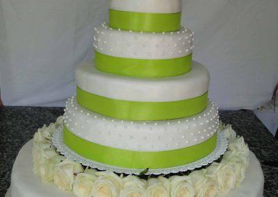 Zöldfű torta