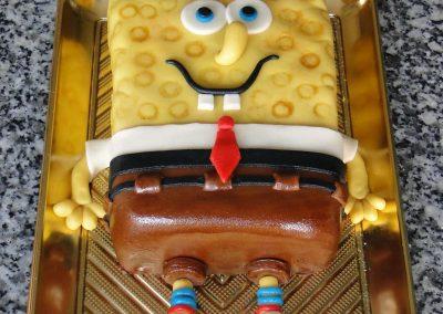 Spongya Bob torta