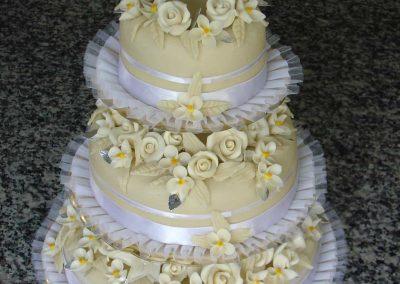 Sokvirágos torta