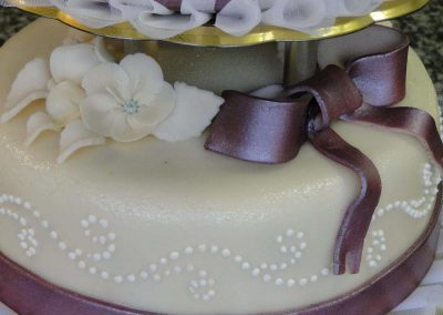 Szalagos torta