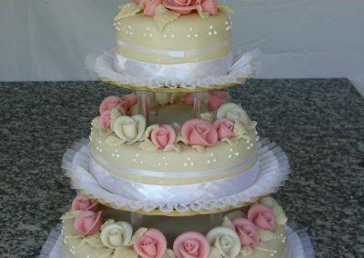 Sokrózsás torta