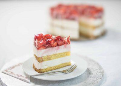 Epres túró torta szelet