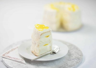 Angyal torta szelet