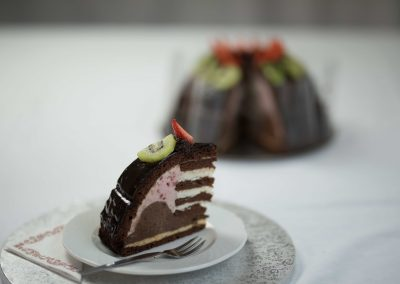 Chéf álma torta szelet
