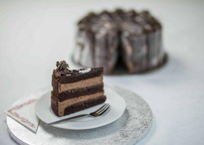 Trüffel tortaszelet