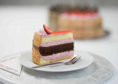Diabella epres torta és szelet