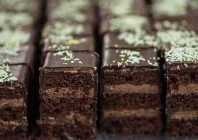 Csokoládés vajaslap