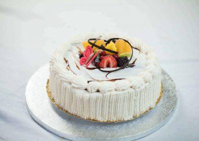 Fagylalt torta (csoki, vanília, eper)