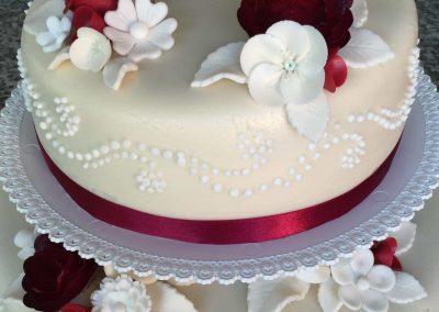 Táncrendes torta