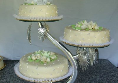 Gyertyatartó torta